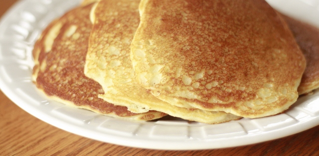 Lemon Cream Cheese Pancakes (gluten free recipe)