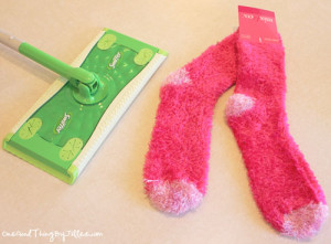 homemade swiffer pads