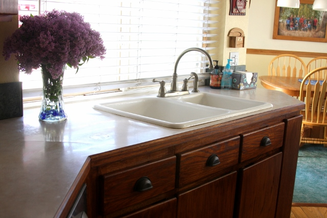 After - sink area