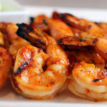 Spicy BBQ'd Shrimp
